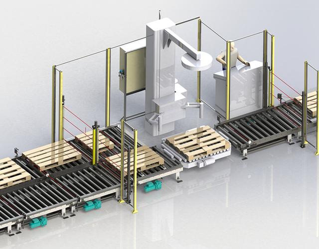 Fabricant de convoyeurs de palettes